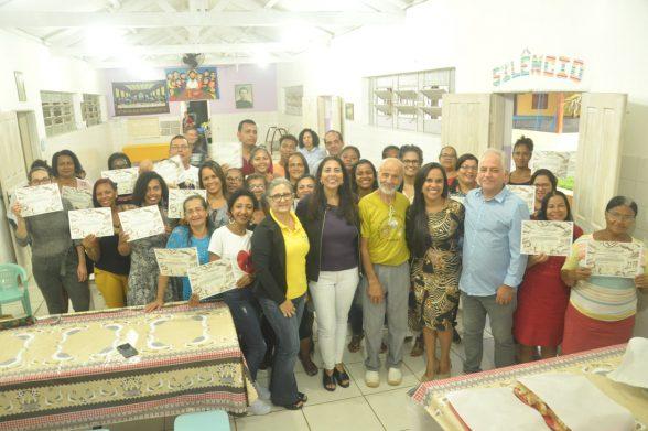 Saldo social do curso de panificação marcou o mês de julho na Escola São João Bosco 3