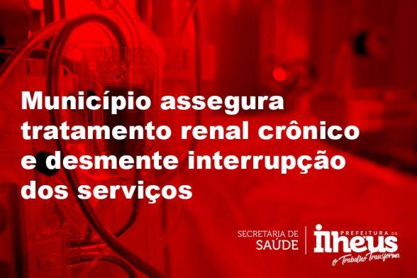 ILHÉUS: Secretaria de Saúde assegura tratamento renal crônico e desmente interrupção dos serviços 1