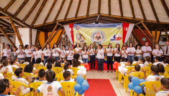ILHÉUS: Mais 350 alunos formados pelo Programa Educacional de Resistência às Drogas 3