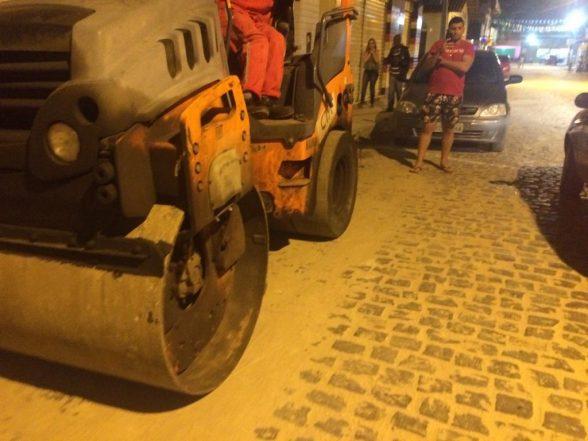 ILHÉUS: Programa Asfalto Legal chega no bairro Nossa Senhora da Vitória 1