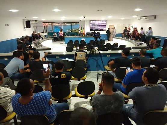 Motoristas de aplicativo protestam contra projeto na Câmara de Ilhéus 6