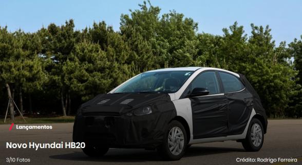 Ilhéus recebe em setembro a estreia da segunda geração do HB20 1