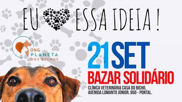 ILHÉUS: Bazar solidário em prol dos animais será neste sábado (21) 1
