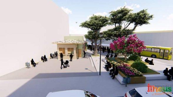 ILHÉUS: Reforma do Ponto de ônibus próximo ao Supermercado Alana será iniciado no sábado (28) 3