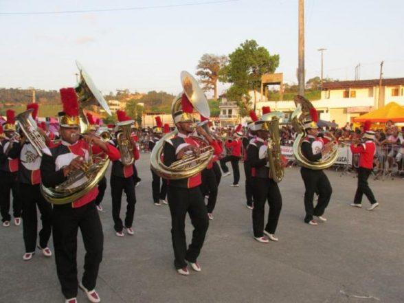 Gandu sedia abertura do Campeonato Baiano de Fanfarras 1