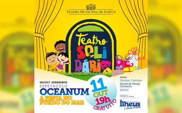Campanha Teatro Solidário promove peça em comemoração ao dia das crianças 1