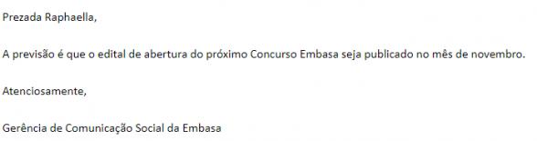 Concurso Embasa: IMINENTE! Edital previsto para novembro! 5