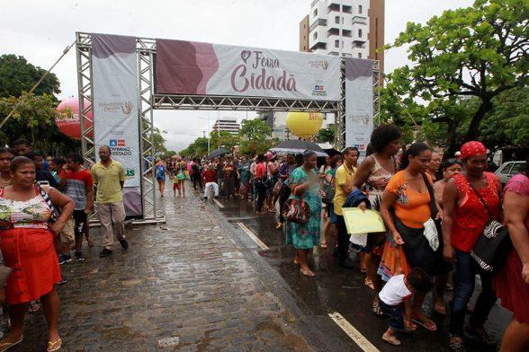 Primeiro dia da Feira Cidadã em 2019 em Ilhéus levou mais de 5 mil pessoas ao Centro de Convenções 1