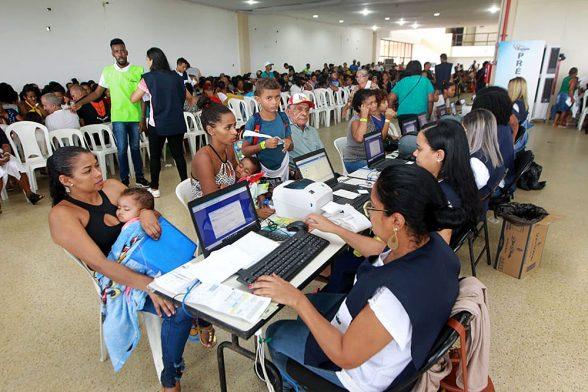 Primeiro dia da Feira Cidadã em 2019 em Ilhéus levou mais de 5 mil pessoas ao Centro de Convenções 2