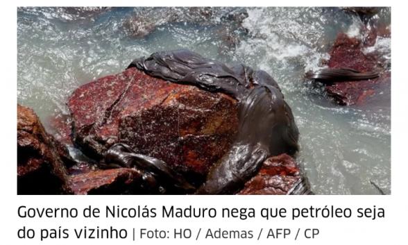 Mancha de óleo com mais de 21 km² está se aproximando do litoral da Bahia 1