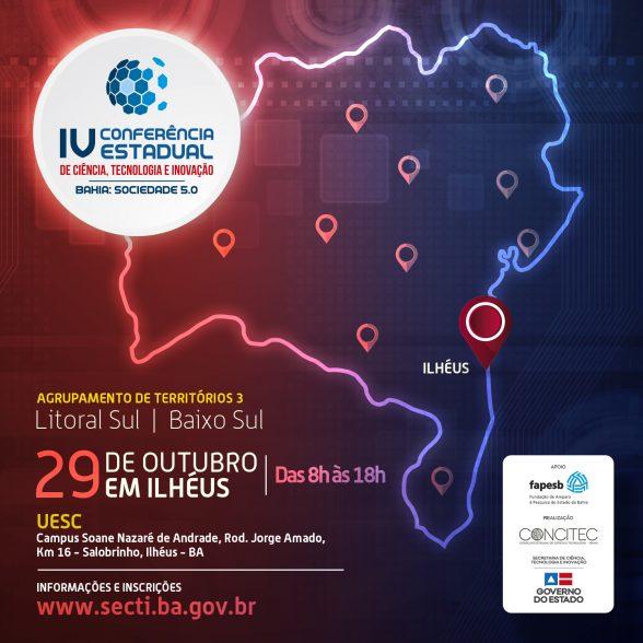 UESC recebe Conferência Regional de Ciência, Tecnologia e Inovação; inscreva-se 7