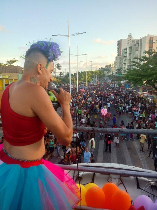 Deputado Federal Igor Kannário põe trio na rua na Marcha da Diversidade de Ilhéus 2