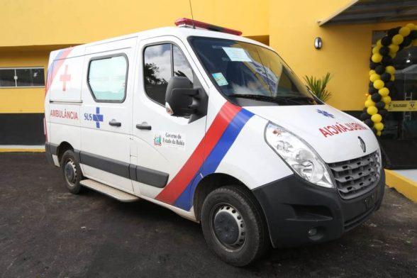 Governo do Estado entrega ambulâncias para 19 municípios baianos 1