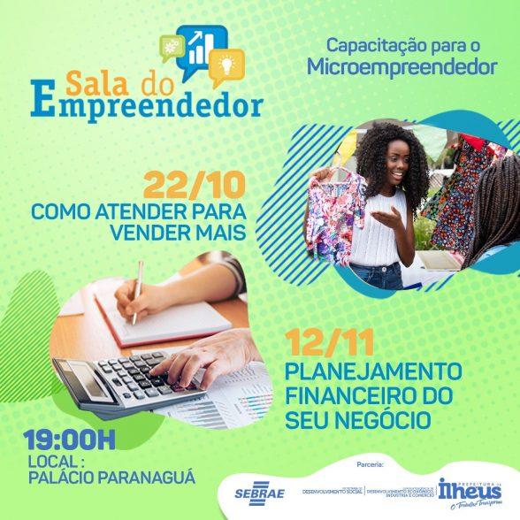 Sala do Empreendedor promove palestras gratuitas em Ilhéus 1
