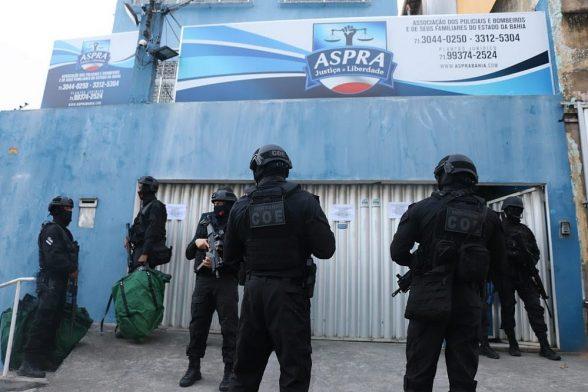 Alvo de operação, sedes da Aspra são interditadas em Salvador e interior 1
