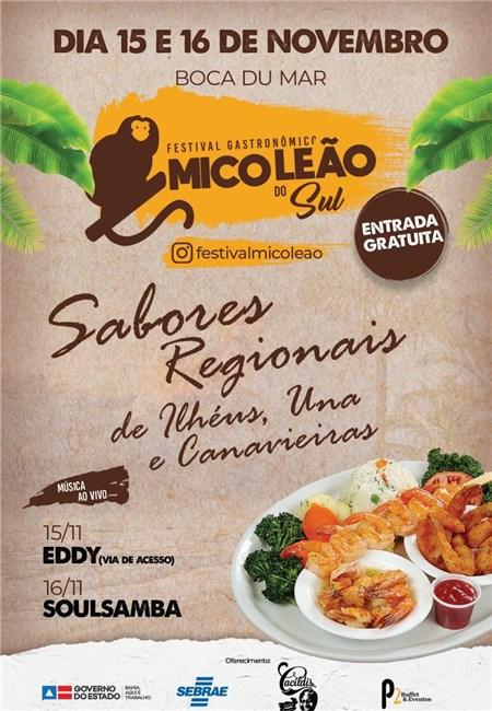 Ilhéus tem festival gastronômico em final de semana prolongado 1