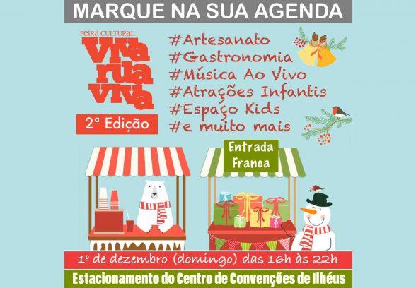 ''Feira Cultural Viva Rua Viva'' terá 2ª edição neste domingo (1º) 4