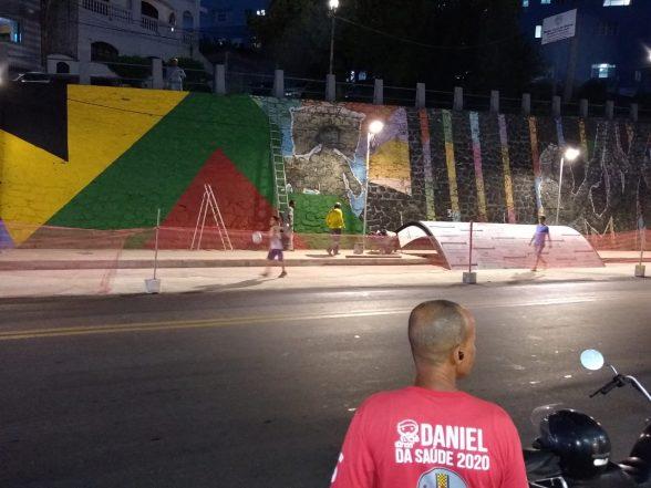 ILHÉUS: Arte que dava vida ao paredão do São José foi apagada e divide opiniões dos moradores 8