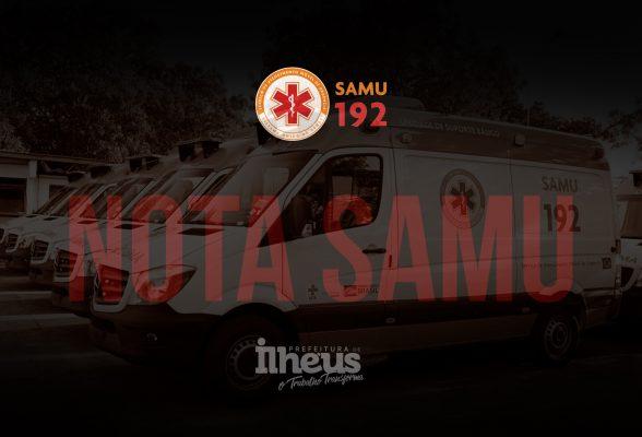 O SAMU não vai parar, afirma Secretário de Saúde 4