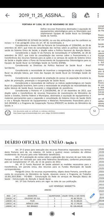 MS anuncia R$ 5 mi para 101 municípios da BA adquirirem equipamentos odontológicos; Ilhéus foi contemplada 2