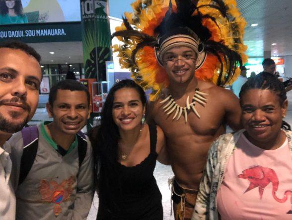 Aluno da APAE de Ilhéus participa de festival de arte em Manaus 3