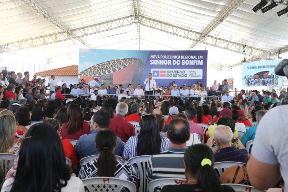 Inaugurada 14ª Policlínica Regional de Saúde em Senhor do Bonfim 1