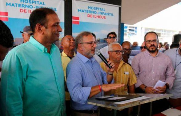Governo do Estado assina ordem de serviço para construção de Hospital Materno-Infantil em Ilhéus 2