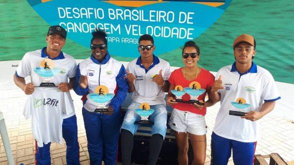 Canoagem da Bahia conquista cinco medalhas no Desafio Brasileiro em Tocantins 1
