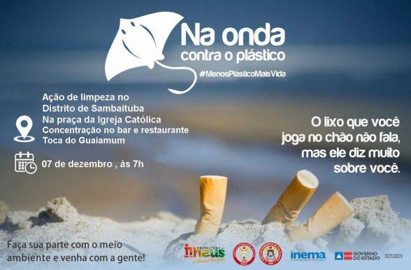 Campanha promove ações de limpeza no distrito de Sambaituba 7