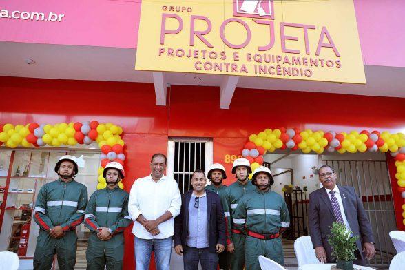 Grupo Projeta inaugura unidade de segurança contra incêndio 1