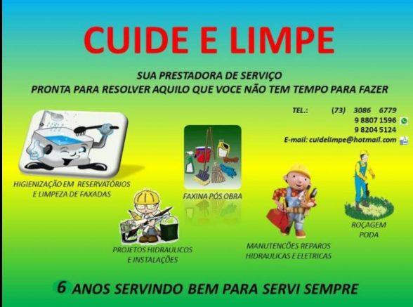 Publicidade da Cuide e Limpe 6