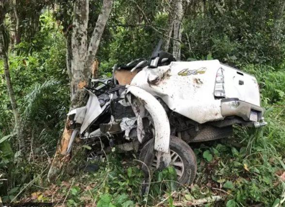 Passageiro morre e médico fica gravemente ferido em acidente na BR-330 1