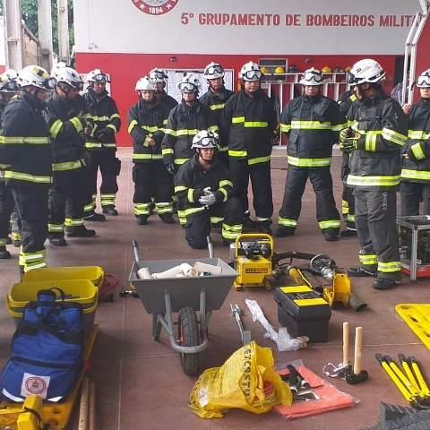 5º GBM de Ilhéus realiza curso de resgate automobilístico 1