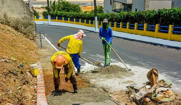 Obras de melhorias são realizadas no Outeiro em Ilhéus 1