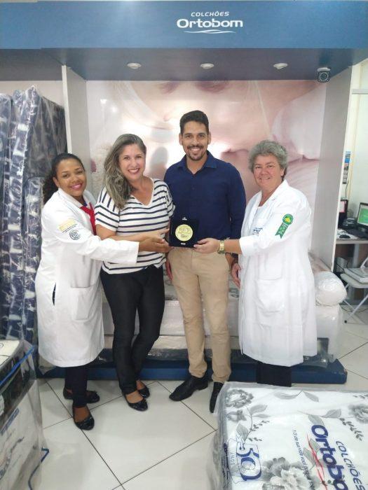 Ortobom de Cacá Colchões recebe medalha de reconhecimento 7