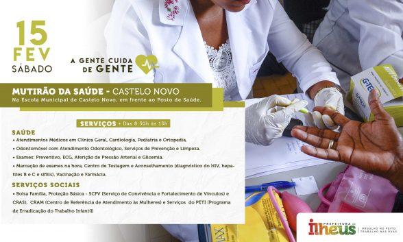 ILHÉUS: Distrito de Castelo Novo recebe mutirão neste sábado (15) 1