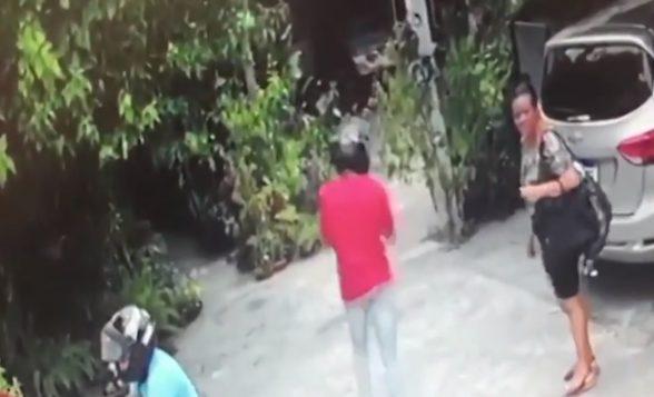Câmera de segurança registra momento em que criminosos assaltam floricultura em Itabuna 2
