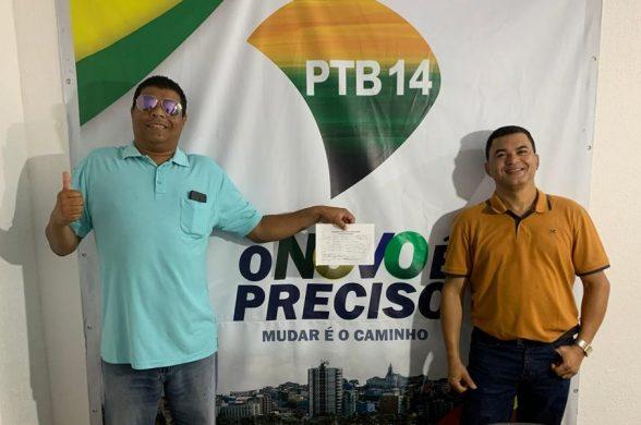 ILHÉUS: Influenciador Digital se filia ao PTB14 e declara apoio ao Professor Reinaldo 1