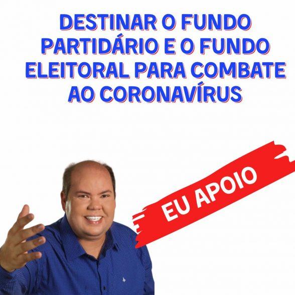 Cacá Colchões é favorável a destinação do fundo eleitoral e do fundo partidário para combate ao Coronavírus 3