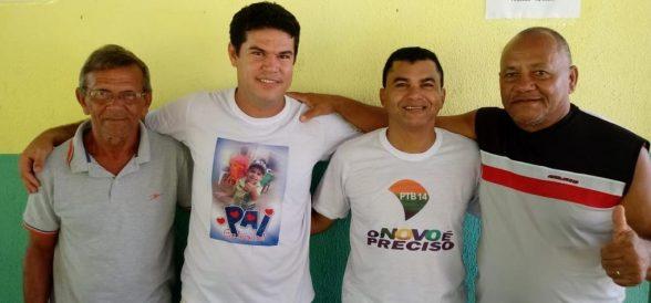 Lideranças se filiam ao PTB14 e declaram apoio ao Professor Reinaldo como Pré-candidato a Prefeito de Ilhéus 4