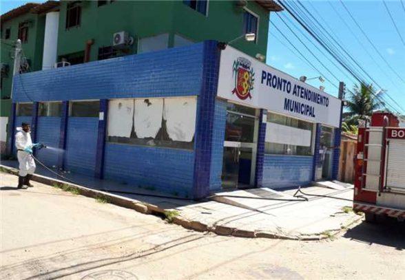 Prefeitura de Ilhéus realiza desinfecção do PA da Zona Sul 5
