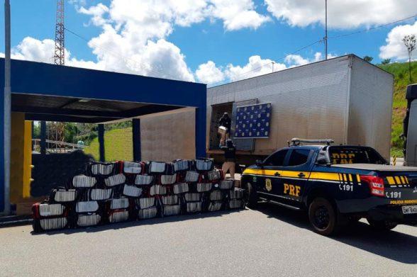 Uma tonelada de cocaína é apreendida em carregamento de luvas no Sul de Minas; Droga tinha destino a cidade de Itabuna 6