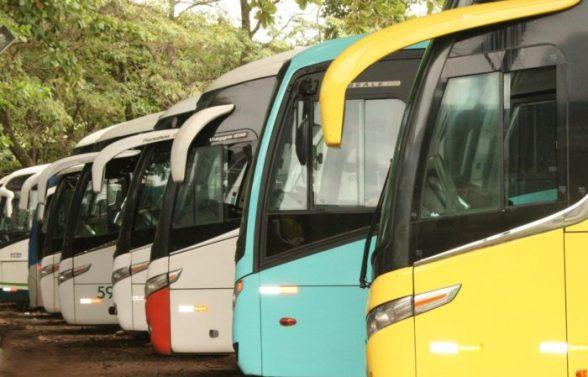 Mais cinco cidades têm transporte suspenso na Bahia; total chega a 79 1