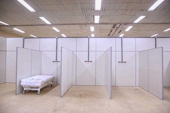 Centros de Acolhimento para pacientes com Covid-19 funcionando sul da Bahia 2