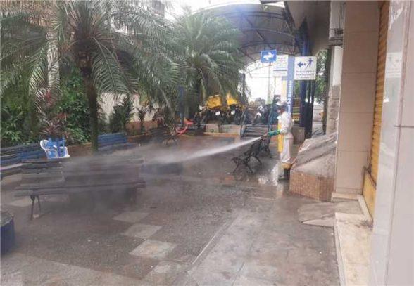Prefeitura de Ilhéus intensifica serviços urbanos e desinfecção de locais públicos 1