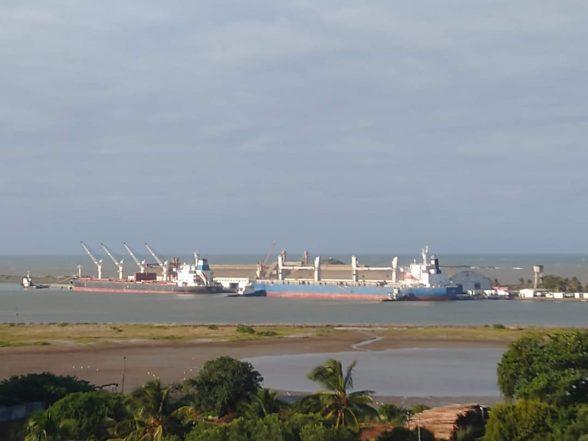 Porto de Ilhéus retoma operação com soja 8