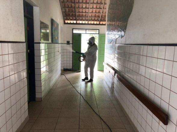 ILHÉUS: Abrigo São Vicente de Paulo tem imóvel totalmente desinfetado nesta quarta-feira (20) 1