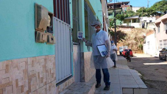 Secretaria de saúde de Ilhéus estima visitar 3 mil imóveis em ação da busca ativa de infectados esta semana 8