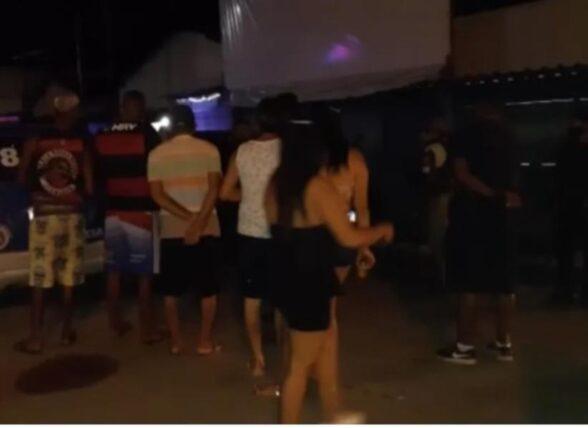 ITABUNA: Festa clandestina com aproximadamente 100 pessoas é fechada pela polícia 1