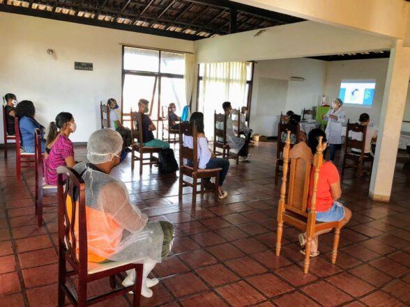 Funcionários do Abrigo S. Vicente de Paulo receberam treinamento da UESC 1